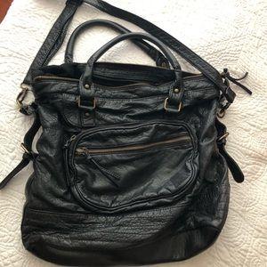 Crossbody large book bag or purse